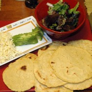Homemade Wheat & Corn Tortillas