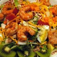 Key Lime Shrimp & Kiwi Salad