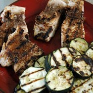 Simple Summer Dinner: Grilled Mahi Mahi & Garden Zucchini