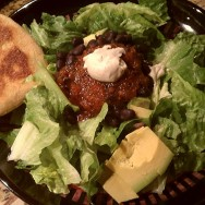 Quick Fix: Black Bean & Avocado Salad with Cashew Sour Cream & (Shetland) Tortillas